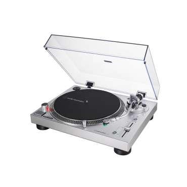 Audio Technica AT LP120X USB Plattenspieler silber