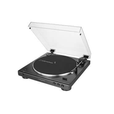 Audio Technica AT LP60XBT Bluetooth Plattenspieler schwarz