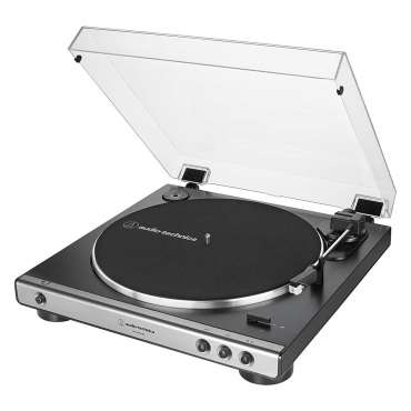 Audio Technica AT LP60XUSB gun metal USB Turntable