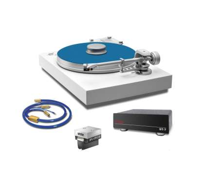 ATR Celebration 40 Super Pack 2, Turntable with SPU ATR Celebration 40 and Ortofon ST-7 white