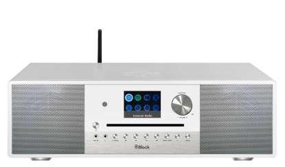 Block SR-100 Smart-Radio mit DAB+, Internet-Radio und CD-Spieler