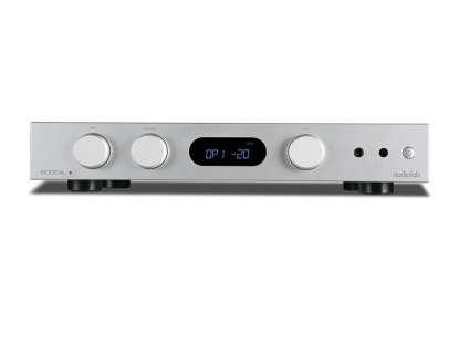 Audiolab 6000A Vollverstärker mit DAC und Phono MM Eingang, silber (geprüfte Retoure)