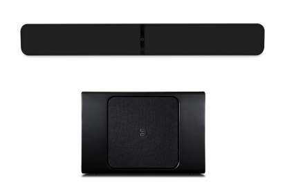 Bluesound Set Soundbare Pulse 2i und Pulse Sub+ Subwoofer