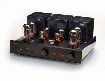Cayin CS-88 tube integrated amplifier with phono aluminium front black