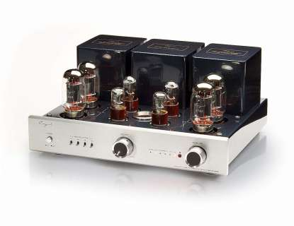 Cayin CS-88 tube integrated amplifier with phono aluminium front silver