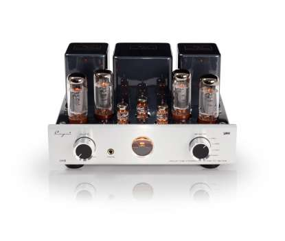 Cayin MT-35MK2 Plus Bluethooth tube integrated amplifier aluminum front silver