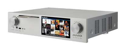 Cocktail Audio X35 CD-Streamer incl. WLAN USB-Adapter silber 6 TB 3,5 Zoll Festplatte