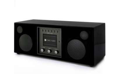 Como Audio Duetto DAB+ Radio with Bluetooth, WiFi, Spotify and Remote, hgl. black (checked return)