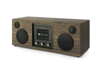 Como Audio Duetto DAB+ Radio mit Bluetooth, WiFi, Spotify und FB Wallnuss
