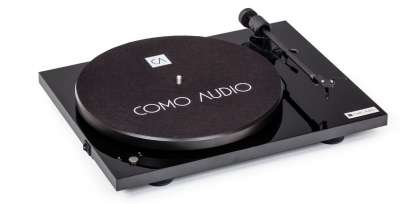 Como Audio Turntable BT with ortofon OMB10 cartridge high gloss black