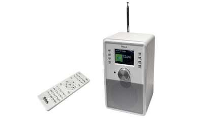 Block CR-10 Internet Radio Weiss
