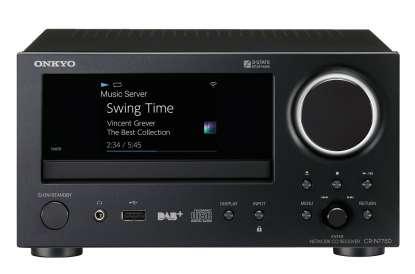 Onkyo CR-N775D Netzwerk Stereo CD-Receiver mit Bluetooth, HiRes, W-LAN