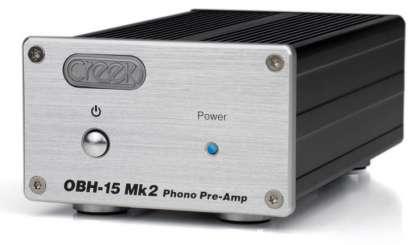 Creek OBH 15 MK 2 Phono Preamp MM/MC, silver (checked return)
