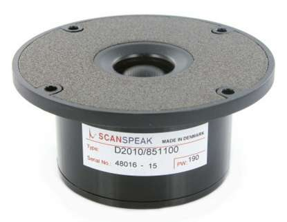 Scan Speak D 2010/851100 Textile Tweeter without FF