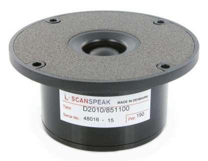 Scan Speak D 2010/851100 Gewebe-Kalotte ohne FF