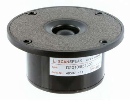 Scan Speak D 2010/851300 Textile Tweeter with FF