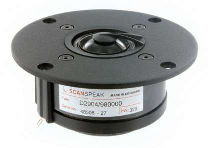 Scan Speak D 2904/980000 Aluminium Kalotte