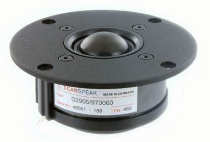 Scan Speak D 2905/970000 Textile Dome (pair)