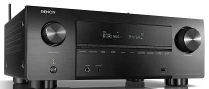 Denon AVC-X3700H 9.2 Kanal 8K-AV Receiver mit Amazon Alexa-Sprachsteuerung, schwarz
