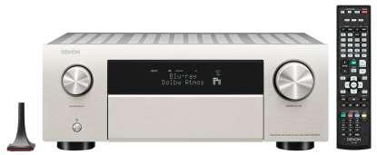 Denon AVC-X4700H 9.2 Kanal 8K-AV Receiver mit Amazon Alexa-Sprachsteuerung silber