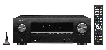 Denon AVR-X1600H DAB 7.2 Kanal AV-Receiver mit Sprachsteuerung und DAB Radio