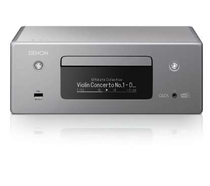 Denon RCD-N11 DAB with Netzworkl- and CD-Player grey