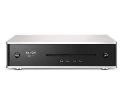 Denon DCD-100 CD Player, Premium silber