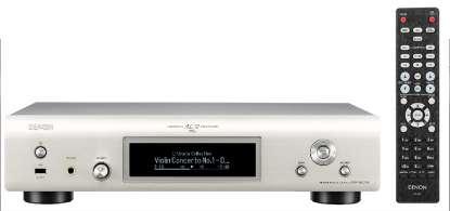 Denon DNP-800 NE Netzwerk-Player mit WLAN und Bluetooth, silber (geprüfte Retoure)