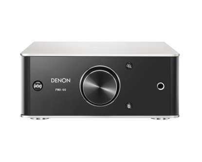 Denon PMA 60 Digital Integrated Stereo Amplifiert with DAC und Bluetooth, Premium silver
