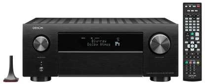 Denon AVC-X4700H 9.2 Kanal 8K-AV Receiver mit Amazon Alexa-Sprachsteuerung schwarz
