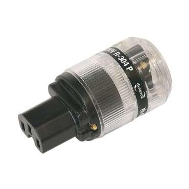 Dynavox Highend-HiFi IEC socket gold plated