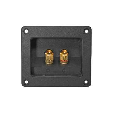 Dynavox Speaker Terminal T 93 Gold Plated, Square