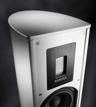 Piega Premium 701 Floor-Speaker (pair) white, cover silver