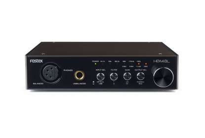 Fostex HP-A4BL D/A Converter with Headphone Amplifier, Black