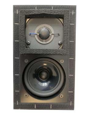 Harwood Acoustics Monitor LS 3/5A BBC Spezifikation, fertig montierte Schallwand