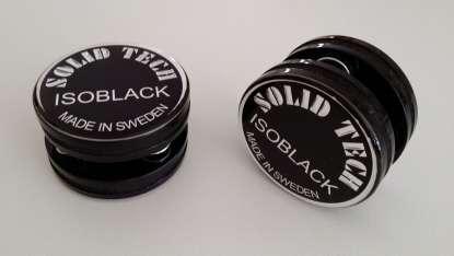 Solid Tech Isoblack 1-20 KG, 4er Set schwarz
