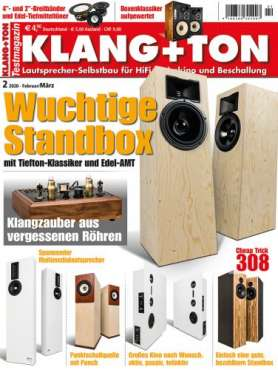 Klang + Ton Zeitschrift 2020 Ausgabe 2