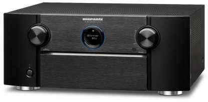 Marantz AV 7706 AV-Vorverstärker 8K mit Dolby Atmos, Aura-3D, HEOS, AirPlay2 und Amazon Alexa