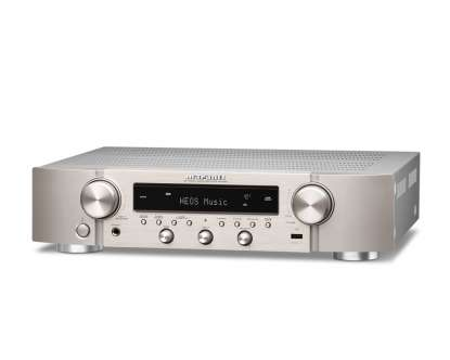 Marantz NR 1200 AV-Receiver compact Stereo-Netzwork-Receiver with HEOS silver-gold