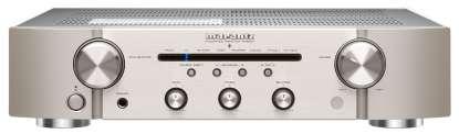 Marantz PM 6007 Vollverstärker mit Phono und DA-Wandler silber/gold