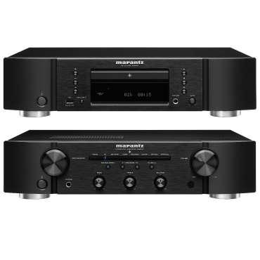 Marantz Set PM 6007 Vollverstärker mit Phono und DA-Wandler und CD 6007 CD Player