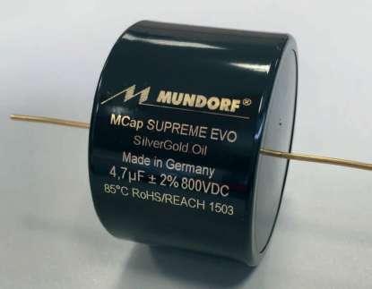 Mundorf M-Cap SUPREME EVO Silber/Gold/Oil