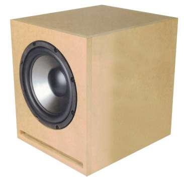 Hobby Hifi  M-Sub 80.10 - Bausatz ohne Gehäuse