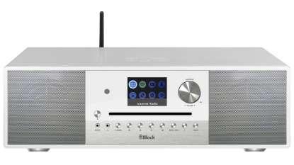 Block SR-100 Smart-Radio mit DAB+- Weiss