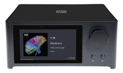 NAD C 700 BluOS Streaming-Vollverstärker, schwarz