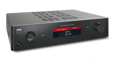 NAD C 368 Hybrid Digital DAC Amplifier, graphite
