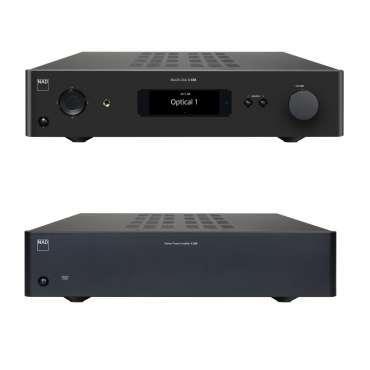 NAD Set C268 Stereo-Endustufe und C658 BluOS Streaming DAC