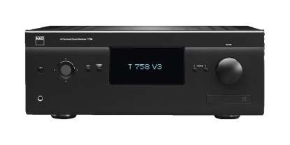 NAD T 758 V3 HD AV-Receiver 7.1 with BlueOS, Graphite