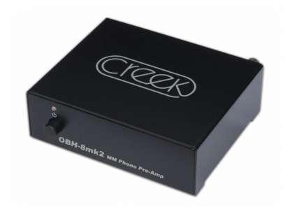 Creek OBH 8 MK 2 MM Phonovorverstärker, schwarz