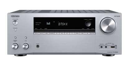 Onkyo TX-NR686E Netzwerk 7.2-Kanal-AV-Receiver silber